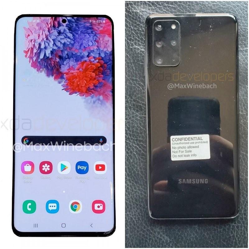 Samsung Galaxy S20+ 5G: Διέρρευσαν οι πρώτες πραγματικές φωτογραφίες του