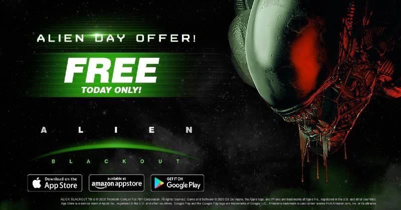 Alien: Blackout, διαθέσιμο δωρεάν σήμερα για Android και iOS!
