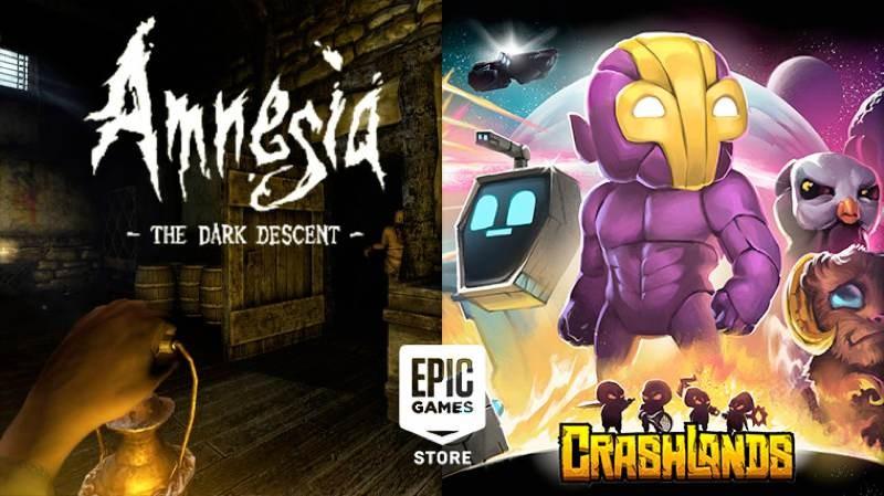 Amnesia: The Dark Descent και Crashlands διαθέσιμα δωρεάν στο Epic Games Store