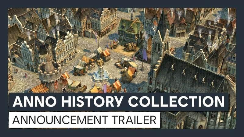 Η Ubisoft ανακοινώνει το Anno History Collection με ανακαινισμένες εκδόσεις