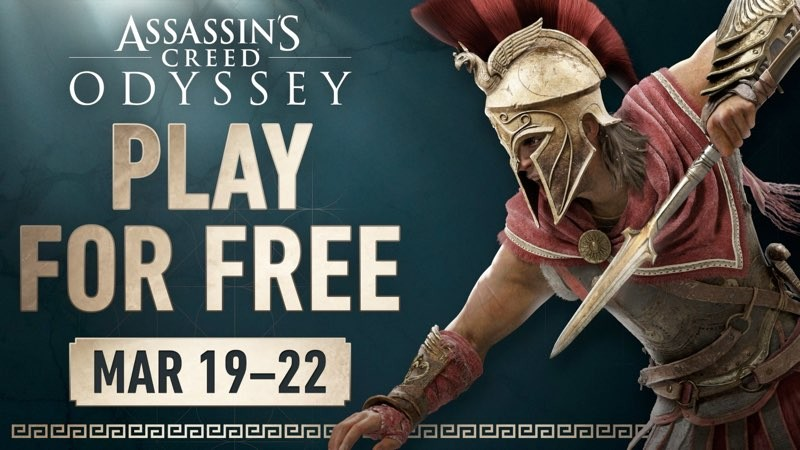 Assassin's Creed Odyssey: Δωρεάν για PC, PS4 και Xbox One από 19 έως 22 Μαρτίου 2020