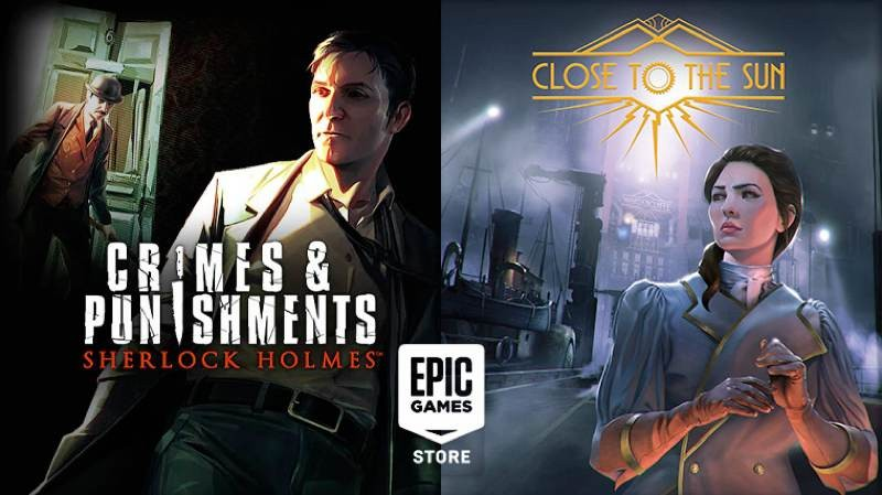 Sherlock Holmes: Crimes & Punishments και Close to the Sun δωρεάν στο Epic Games Store