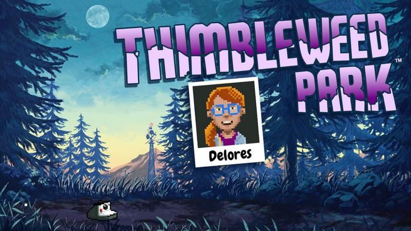 Delores: A Thimbleweed Park Mini-Adventure, διαθέσιμο εντελώς δωρεάν σε Steam και Epic Games Store