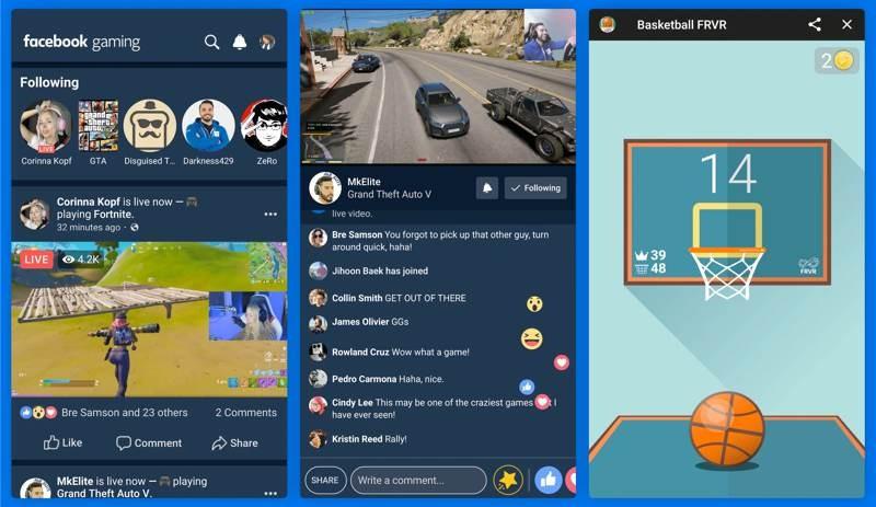 Facebook: Αυτόνομη εφαρμογή gameplay streaming από αύριο για συσκευές Android