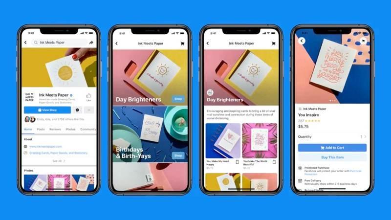Facebook Shops: Ένα δωρεάν marketplace για κάθε μικρή επιχείρηση 1