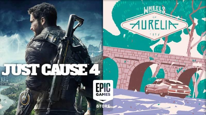 Just Cause 4 και Wheels of Aurelia διαθέσιμα δωρεάν στο Epic Games Store