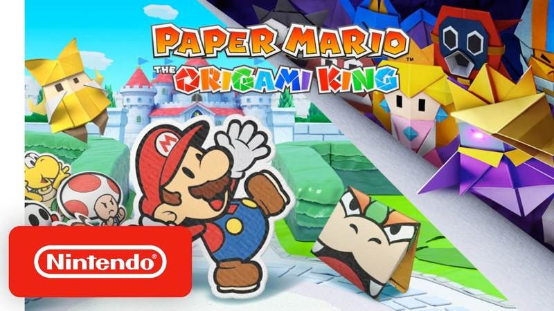Paper Mario: The Origami King, ανακοινώθηκε επίσημα για το Nintendo Switch 1