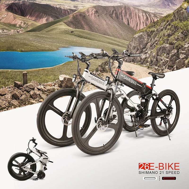 Samebike LO26: Μια πολύ καλή πρόταση για ηλεκτρικό ποδήλατο 1