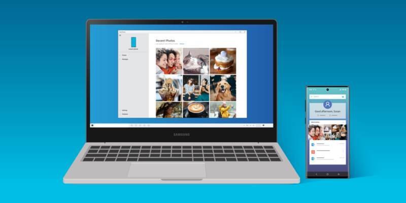Ασύρματη μεταφορά αρχείων με drag and drop από smartphones της Samsung σε Windows PC
