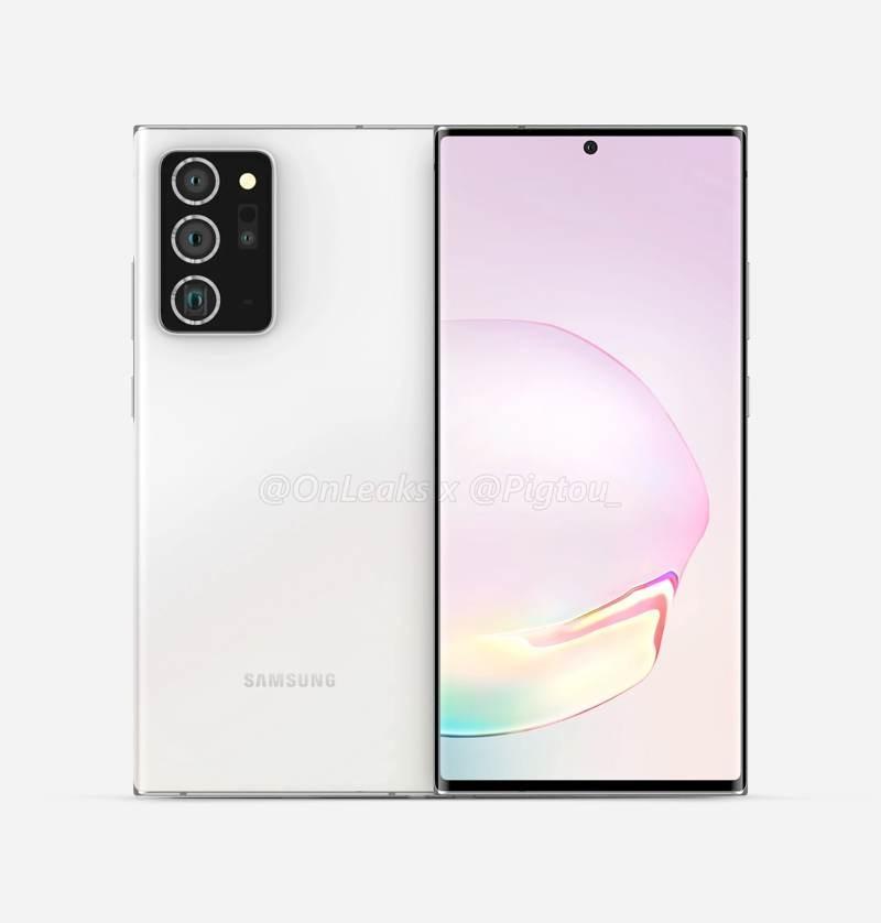 Samsung Galaxy Note 20+: Τα πρώτα renders και για το μεγαλύτερο μοντέλο