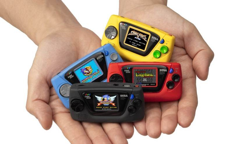 SEGA Game Gear Micro: Μια ρετρό παιχνιδοκονσόλα που χωρά στην παλάμη σου
