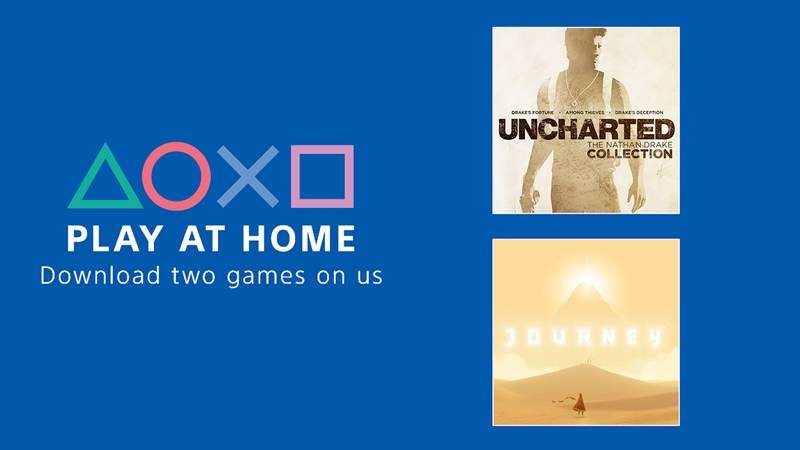 Play At Home: Η Sony δίνει δωρεάν σε όλους τα The Nathan Drake Collection και Journey
