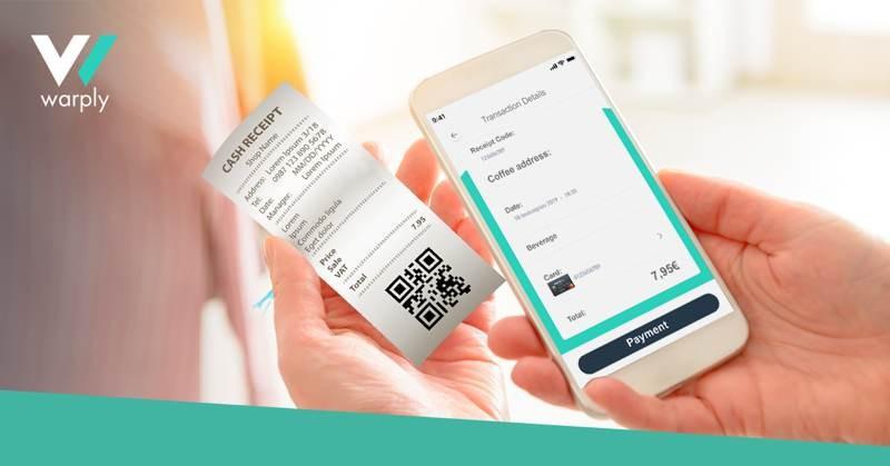 Warply: Νέα υπηρεσία για ανέπαφες πληρωμές με σκανάρισμα της απόδειξης μέσω smartphone 1