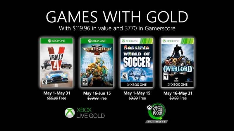 Αυτά είναι τα δωρεάν παιχνίδια για το Μάιο σε Xbox Live Gold και Xbox Game Pass Ultimate 1