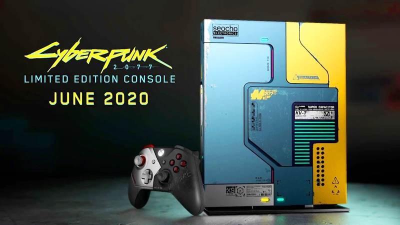 Xbox One X Cyberpunk 2077 Limited Edition 1