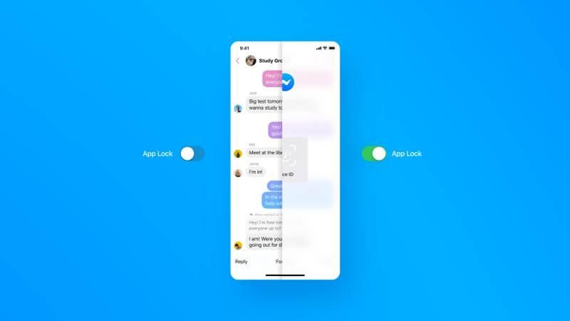 Facebook Messenger: Προσθέτει λειτουργία App Lock για βιομετρική είσοδο στην εφαρμογή