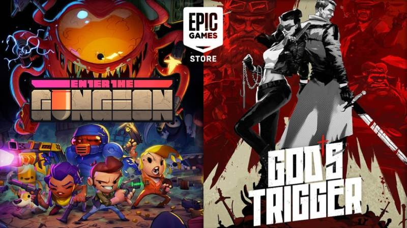 Enter the Gungeon και God's Trigger διαθέσιμα δωρεάν στο Epic Games Store