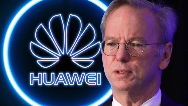 Eric Schmidt: Απειλή η Huawei, λάθος ο αποκλεισμός