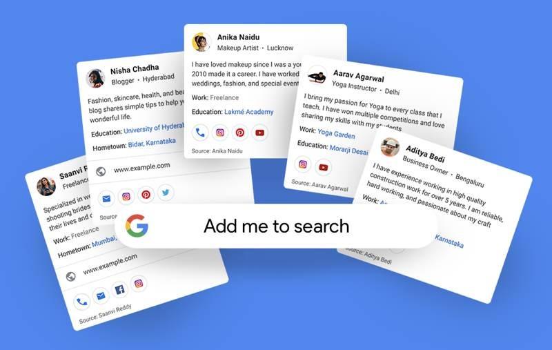 People Cards: Το νέο εργαλείο της Google για να γίνεις ο ίδιος αποτέλεσμα αναζήτησης