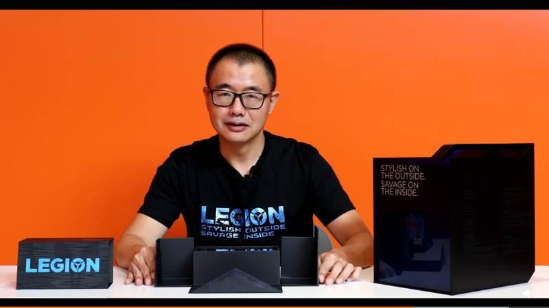 Lenovo Legion: Με οθόνη 144Hz, φορτιστή 90W και πρώτη ματιά στο UI