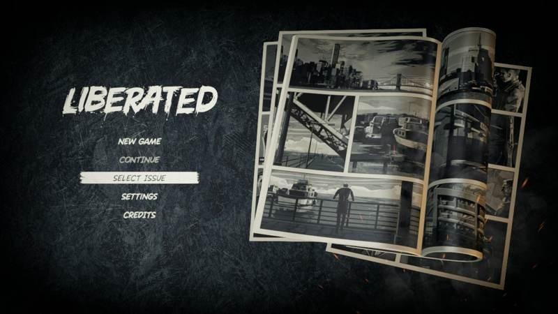 Liberated: Ένα σκοτεινό κόμικ που παίζεις μέσα στα στριπάκια [Review]