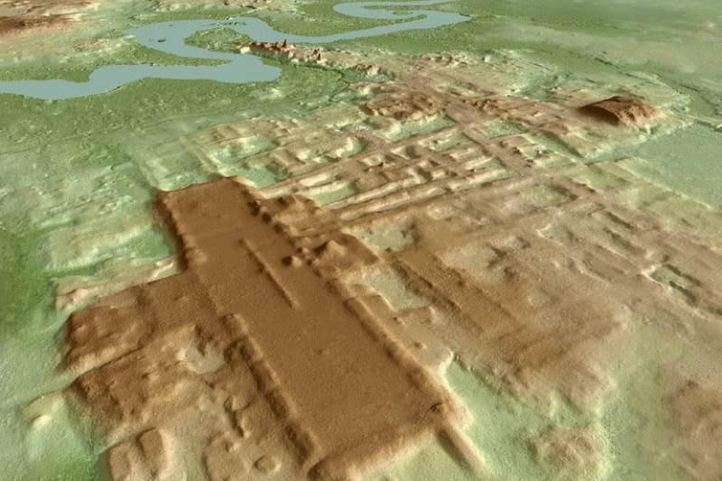 Η τεχνολογία LiDAR βοηθά στην ανακάλυψη τεράστιας αρχαίας δομής των Μάγια
