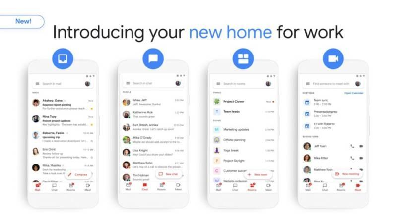 Το νέο Gmail λανσάρεται από σήμερα σε Android και web για τους χρήστες της G Suite