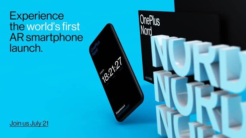 OnePlus Nord: Επίσημη η AR παρουσίαση στις 21 Ιουλίου 2020 1