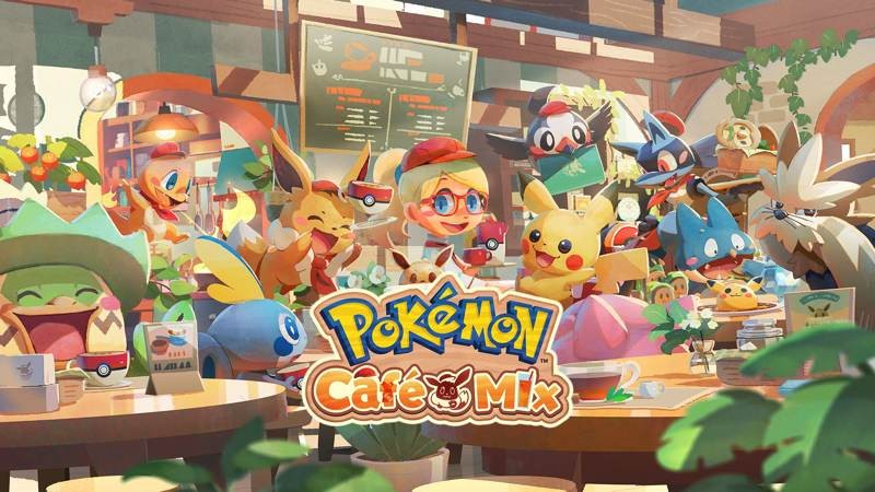 Pokémon Café Mix: Το νέο puzzle game για Android, iOS και Nintendo Switch