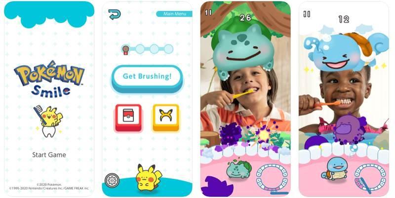 Pokémon Smile: Μια AR εφαρμογή για να πλένεις τα δόντια σου