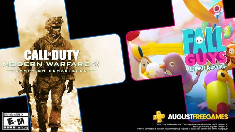 PS Plus: Δωρεάν τα Modern Warfare 2 Campaign Remastered και Fall Guys