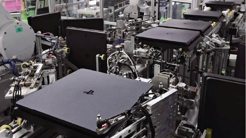 Sony: Η γραμμή παραγωγής βγάζει ένα PS4 κάθε...30 δευτερόλεπτα!