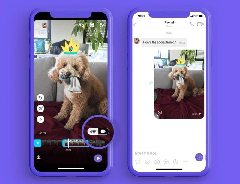 Viber: Νέα λειτουργία για να δημιουργείς τα δικά σου GIFs