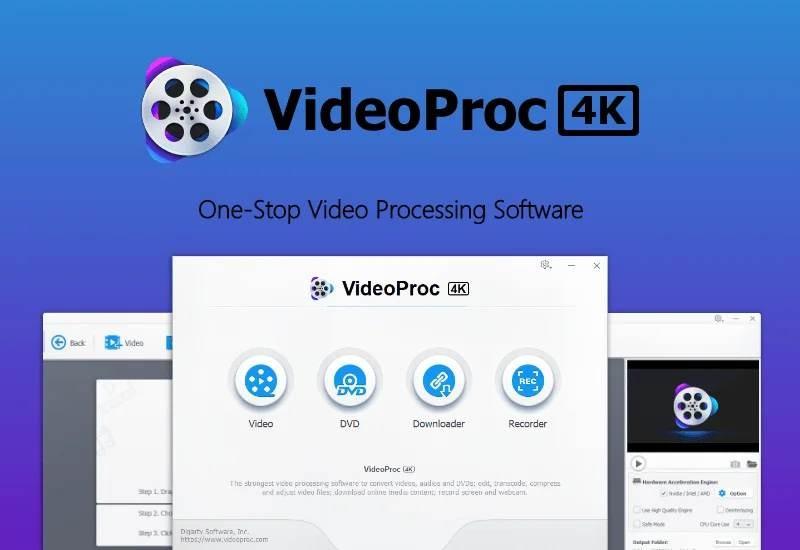 VideoProc for Free: Μια πολύ καλή λύση για μετατροπή και επεξεργασία video