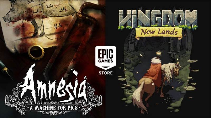 Amnesia: A Machine for Pigs και Kingdom New Lands δωρεάν στο Epic Games Store 1