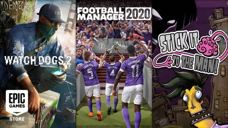 Football Manager 2020, Watch Dogs 2 και Stick It To The Man δωρεάν στο Epic Games Store 1