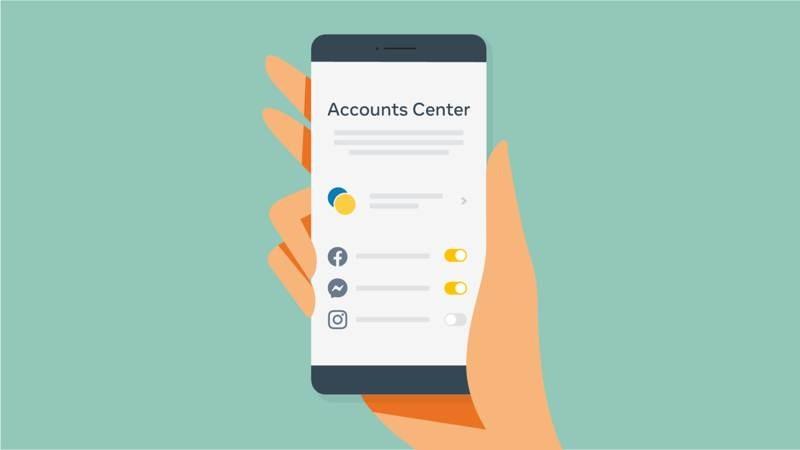 Accounts Center: Νέο εργαλείο για ταυτόχρονο ποστάρισμα σε Facebook, Instagram και Messenger 1