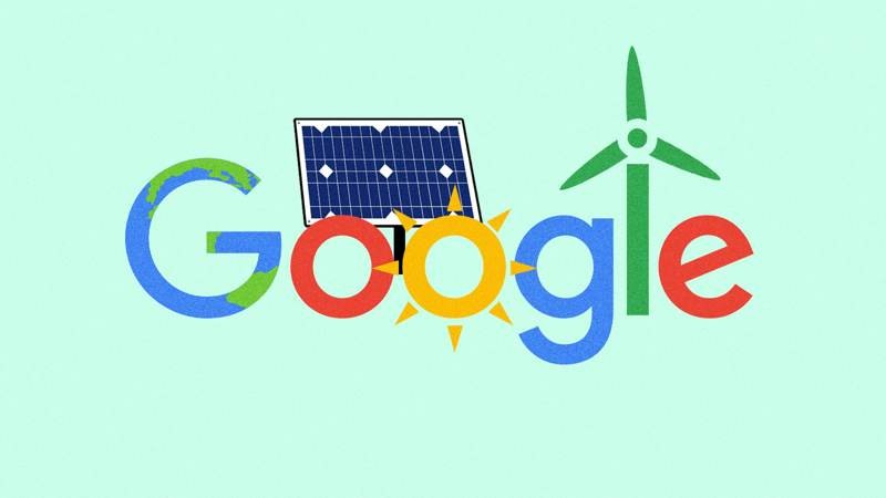 Google: Πλήρης μετάβαση στις ανανεώσιμες πηγές ενέργειας έως το 2030