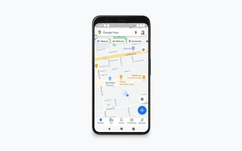 Google Maps: Θα μας δείχνει την πολυκοσμία σε σημεία ενδιαφέροντος 1