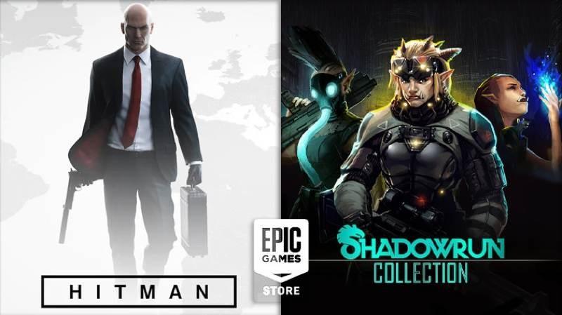 Hitman και Shadowrun Collection διαθέσιμα δωρεάν στο Epic Games Store