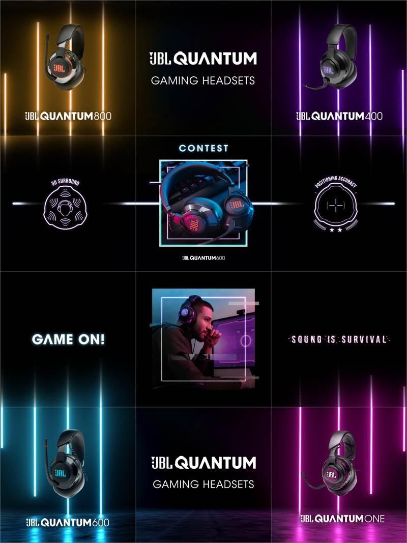 JBL Quantum: Η νέα σειρά ακουστικών και ηχείων για gamers 1