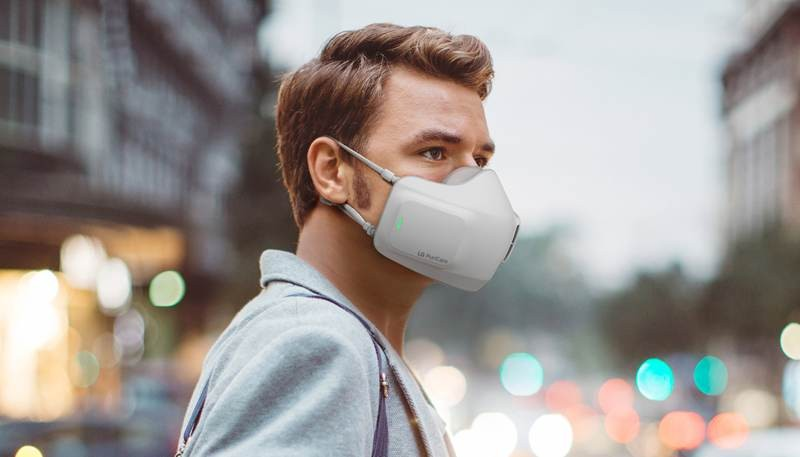 LG Air Purifier Puricare: Η πρωτοποριακή μάσκα που προστατεύει και καθαρίζει τον αέρα