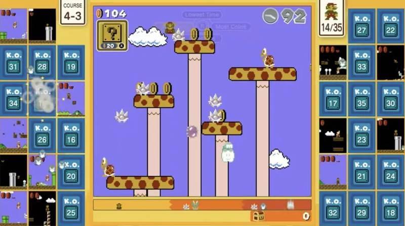 Super Mario Bros. 35, το επετειακό battle royale game για 35 παίκτες