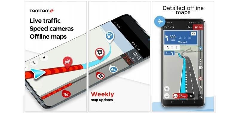 TomTom: Κυκλοφόρησε εφαρμογή πλοήγησης για τα smartphones της Huawei
