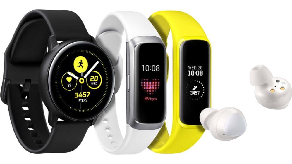 Samsung Galaxy Buds, Galaxy Fit και Galaxy Watch Active, τα νέα wearables της εταιρείας