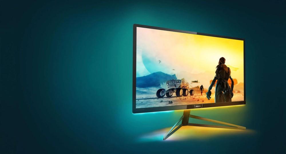 Philips 32'' Momentum: Νέα gaming οθόνη 4K UHD με τεχνολογία Ambiglow