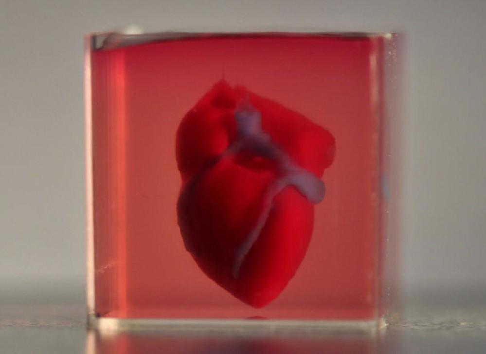 Ερευνητές κατασκεύασαν την πρώτη 3D printed καρδιά από κύτταρα και ιστό ασθενούς