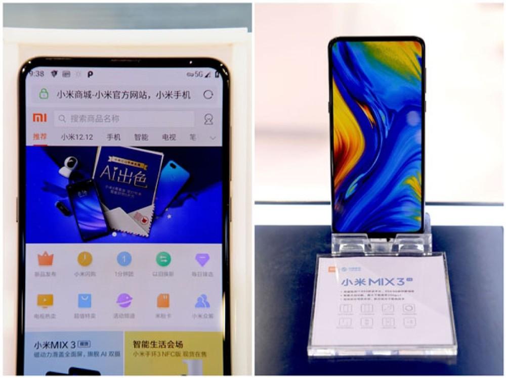 Xiaomi Mi MIX 3 5G: Ανακοινώθηκε επίσημα με Snapdragon 855 SoC