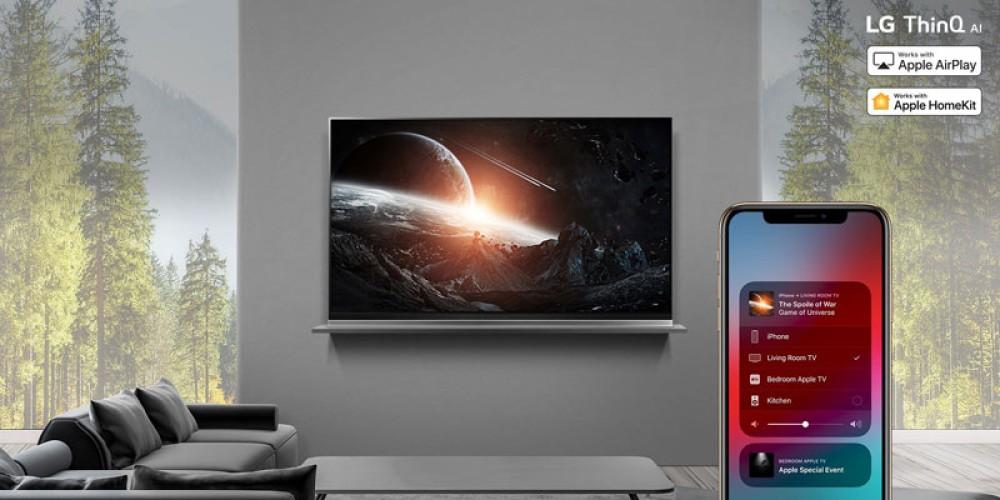 LG: Ο πρώτος κατασκευαστής TVs που υποστηρίζει HomeKit και Apple AirPlay 2