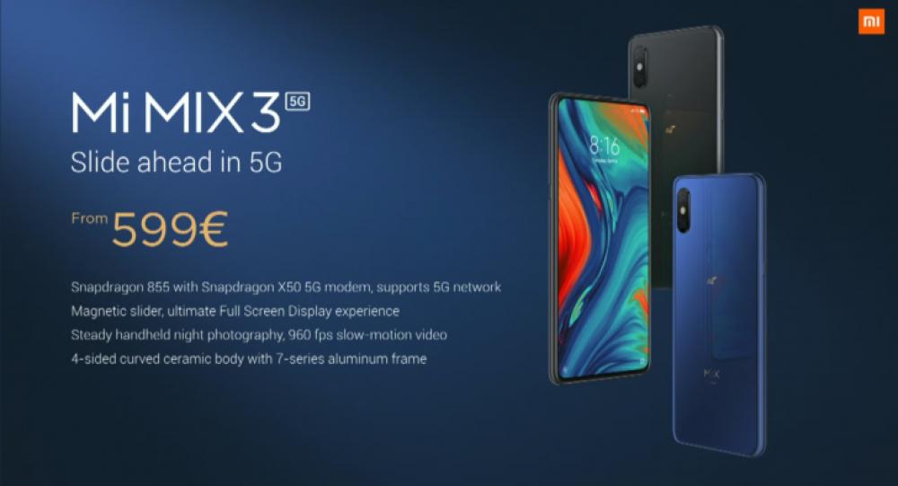 Xiaomi Mi 9 και Xiaomi Mi MIX 3 5G έρχονται Ευρώπη σε απίστευτες τιμές!